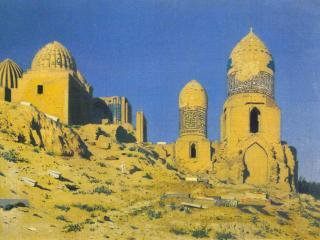 обои Мавзолей Шах-и-Зинда фото