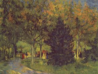 обои Аллея в парке фото
