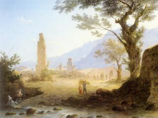обои Итальянский пейзаж фото