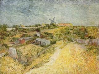 обои Огороды на Монмартре (Монмартрский холм) фото