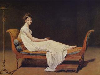 обои Жак - Луи Давид-Портрет мадам Рекамье фото