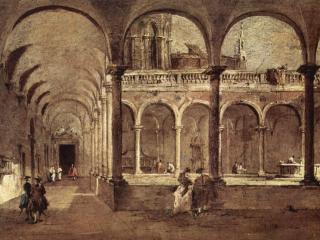 обои Крылатая галерея в Венеции фото