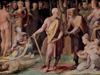 обои Постумий Тибурций убивает своего сына фото