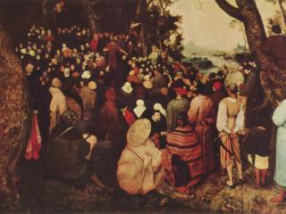 обои Иоанн Креститель, проповедующий покаяние фото