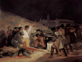 обои Расстрел повстанцев 3 мая 1808 года в Мадриде фото