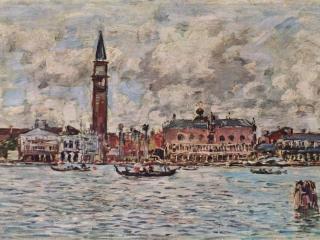 обои Буден Эжен-Площадь Сан Марко в Венеции фото
