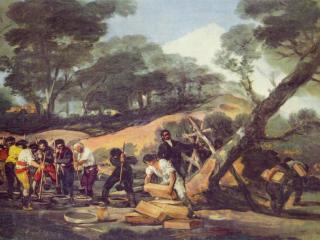 обои Изготовление пороха в Сьерра де Тардьента фото