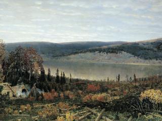обои Кама. 1895. Холст, масло фото