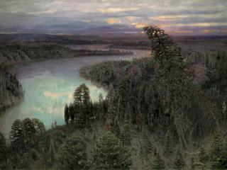 обои Северный край. 1899. Холст, масло, 178х250 см фото