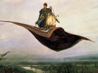 обои Ковёр-самолёт. 1880. Холст, масло фото