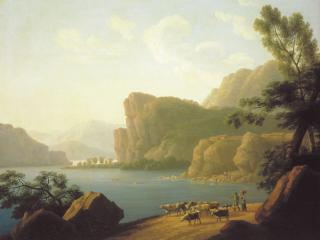 обои Вид реки Селенги в Сибири. 1817 фото