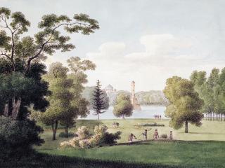 обои Царскосельский парк. 1821—1822 фото