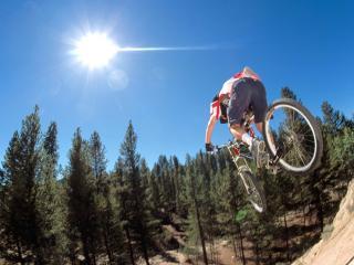 обои Airtime, Pipestone Pass, Montana фото