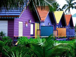 обои Цветные домики,   Багамы фото