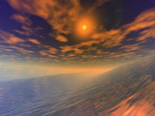 обои Металлический океан фото