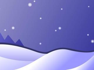 обои Снежные горки фото