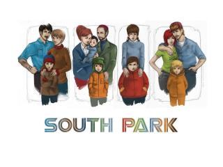 обои Реальные люди  South park фото