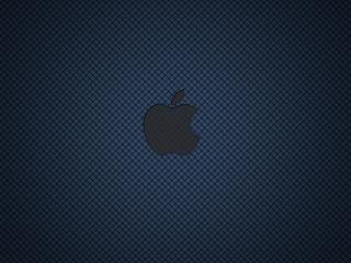 обои Синяя сетка Apple фото