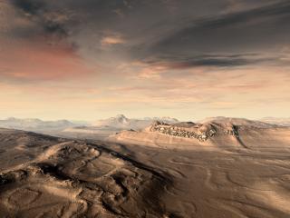 обои Неземная пустыня фото