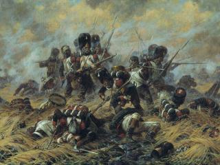 обои Битва при Ватерлоо фото