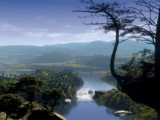 обои Страна озер фото