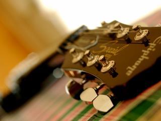 обои Эх,   гитара моя шестиструнная фото
