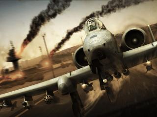 обои Вооруженный штурмовик А-10А фото