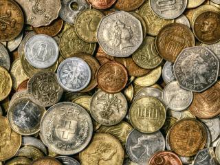 обои Монеты различных стран и времен фото