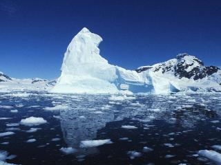 обои Айсберги тают фото