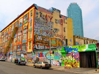 обои Городское граффити фото