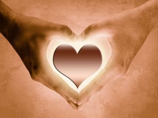 обои Мое сердце - в твоих руках фото
