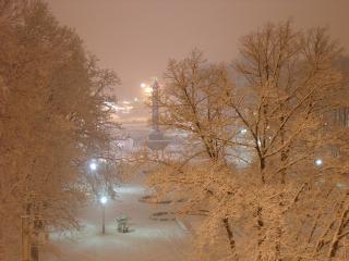 обои Ах,   снегопад фото