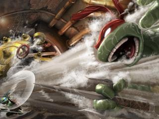 обои Игра Mutant Ninja Turtles фото