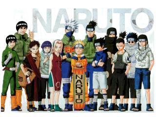 обои для рабочего стола: Naruto первый сезон