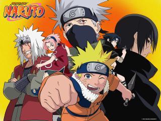 обои для рабочего стола: Naruto сезон первый