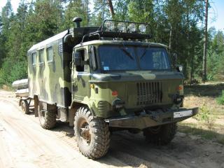 обои Грузовик ГАЗ-66 фото