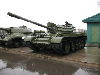 обои Советский танк в музее