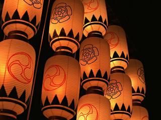 обои Светильники в Японском спортивном клубе фото