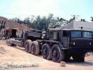 обои МАЗ-537  с прицепом фото