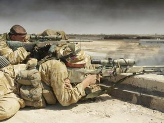 обои Два снайпера фото
