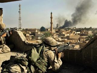обои Американцы в Ираке фото