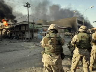 обои Три американских солдата фото