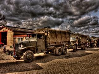 обои Американские грузовики фото