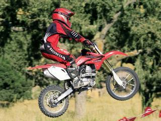 обои Мотоцикл в саванне фото
