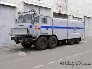 обои Милицейский грузовик фото