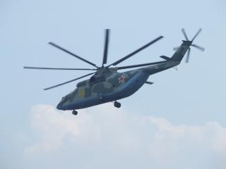 обои Ми-26 летит фото