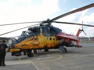 обои Ми-24 с аэрографией фото