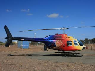 обои Гражданский вертолёт фото