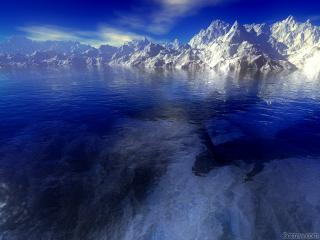 обои Высокие горы фото