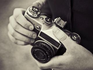 обои Старинный фотоаппарат фото